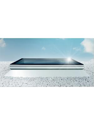 Vlakke Skylux iWindow lichtkoepel met dakopstand 20/00