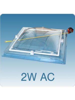 Losse koepel dubbelwandig acrylaat (PMMA/PMMA)