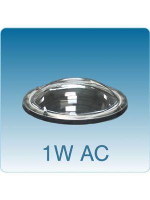 Losse ronde lichtkoepel enkelwandig acrylaat (PMMA)