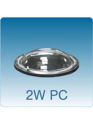 Losse ronde lichtkoepel dubbelwandig polycarbonaat (PC/PMMA)