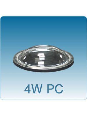 Losse ronde lichtkoepel vierwandig polycarbonaat (PC/PMMA/PMMA/PMMA)